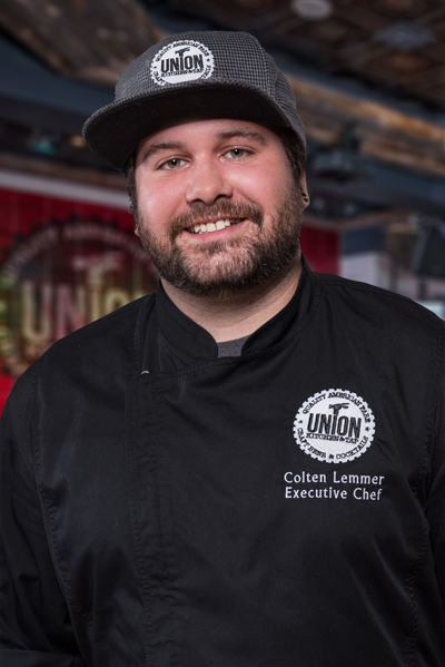 Colten Lemmer, Union Gaslamp Executive Chef
