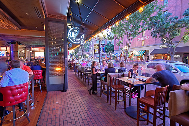 San diego gaslamp restaurant private events downtown san diego patio planetlyrics Choice Image